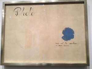 This is the Color of My Dreams, Joan Miro 1925